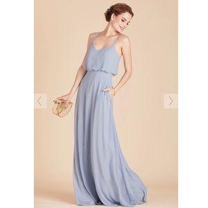 Birdy Grey Gwennie Dress in Dusty Blue